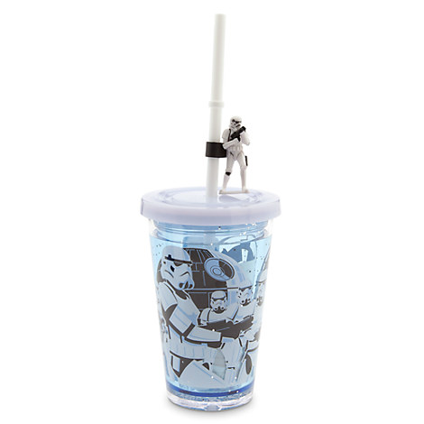 Stormtroopers Tumbler with Straw - Star Wars - Small