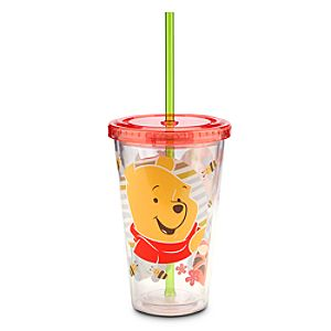 Winnie the Pooh and Pals Tumbler with Straw