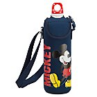 Mickey Mouse Water Bottle with Neoprene Cover