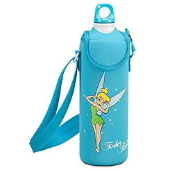 Tinker Bell Water Bottle with Neoprene Cover