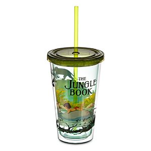 The Jungle Book Tumbler with Straw