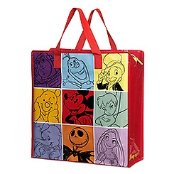 World of Disney Zippered Reusable Tote