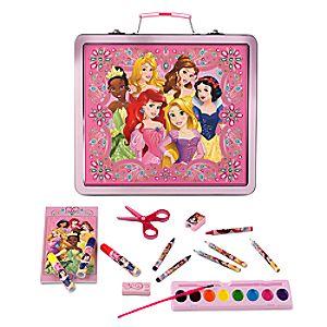 Disney Princess Tin Art Case Set