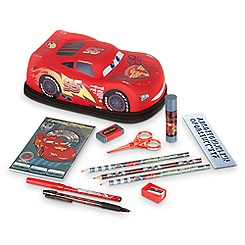 Lightning McQueen Zip-Up Stationery Kit
