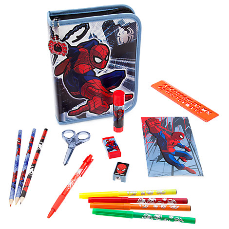 Ultimate Spider-Man Zip-Up Stationery Kit