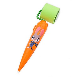 Zootopia Sticky Note Roller Carrot Pen