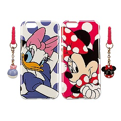 Minnie and Daisy iPhone 6 Case and Charm Set - 2 Pack