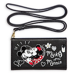 Mickey and Minnie Mouse Crossbody Wallet Case for iPhone 6