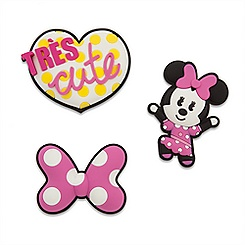 Minnie Mouse MXYZ Magnet Set