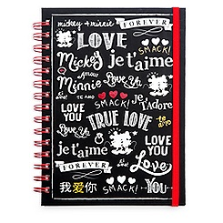 Mickey and Minnie Mouse Journal - ''I Love Mickey'' Collection