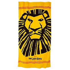 The Lion King: The Broadway Musical Logo Towel