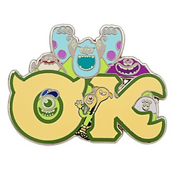 OK Fraternity Pin - Monsters University