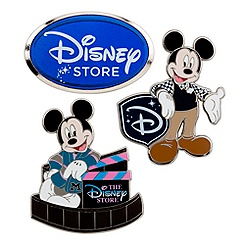 Mickey Mouse Pin Set - 3 pc - Disney Store