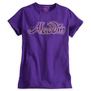 Aladdin the Musical - Logo Tee for Adults