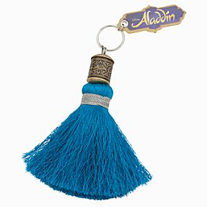 Aladdin the Musical - Tassel Keychain - Turquoise