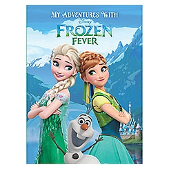 Frozen Fever Personalized Book - Standard Format