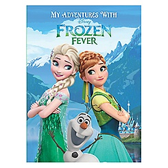 Frozen Fever Personalized Book - Large Hardcover Format