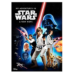 Star Wars Personalized Book - Large Hardcover Format
