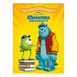 Monsters University ''My Adventures'' Personalized Book - Standard Format