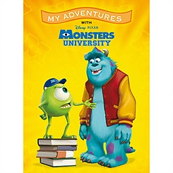 Monsters University ''My Adventures'' Personalized Book - Large Format
