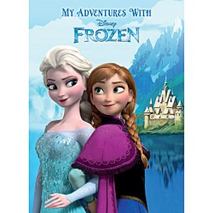 Frozen Personalized Book - Large Paperback Format