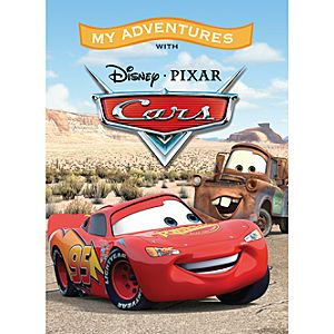 Cars Personalized Book - Large Hardcover Format