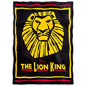 The Lion King: The Broadway Musical Plush Fleece Blanket