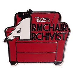 D23's Armchair Archivist Pin