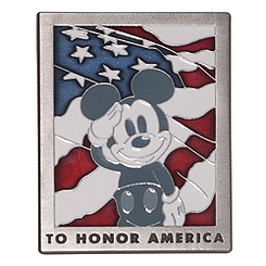 Mickey Mouse ''Old Glory'' Pin - D23