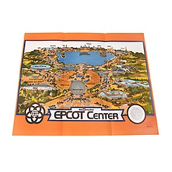 EPCOT Center 1982 Map - D23