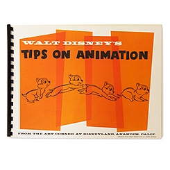 Walt Disney's Tips on Animation Book - D23