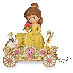 Fifth Birthday Belle Figurine by Precious Moments