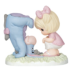 Eeyore with Girl Figure by Precious Moments