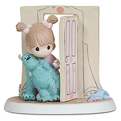 Disney Girl with Sulley Figurine by Precious Moments