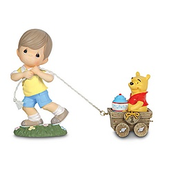 Christopher Robin and Winnie the Pooh Figure Set by Precious Moments