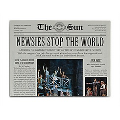 Newsies: The Broadway Musical Program