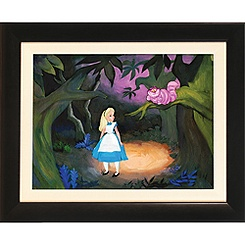 Alice in Wonderland ''The Cat Only Grinned'' Giclée by Jim Salvati