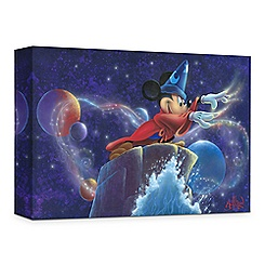 ''Mickey's Magic'' Giclée on Canvas by James C. Mulligan