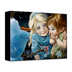 ''Never Let It Go'' Giclée on Canvas by Heather Theurer