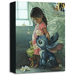 ''Ohana Means Family'' Giclée on Canvas by Heather Theurer