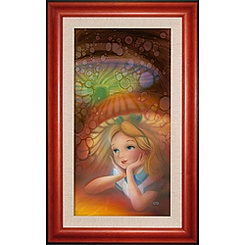 Alice in Wonderland ''Wondering'' Giclée by John Rowe
