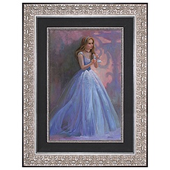Cinderella Giclée on Canvas