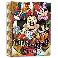 Mickey Mouse ''Leader of the Club'' Giclée by Tim Rogerson
