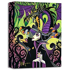 ''Maleficent's Fury'' Giclée by Tim Rogerson