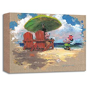 Minnie Mouse ''Shorefront Hula'' Giclée by James Coleman