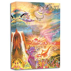 Aladdin ''The Arrival of Prince Ali'' Giclée by John Rowe