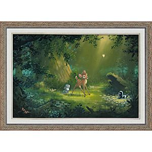 Bambi ''The Beauty of Life'' Giclée by Rob Kaz