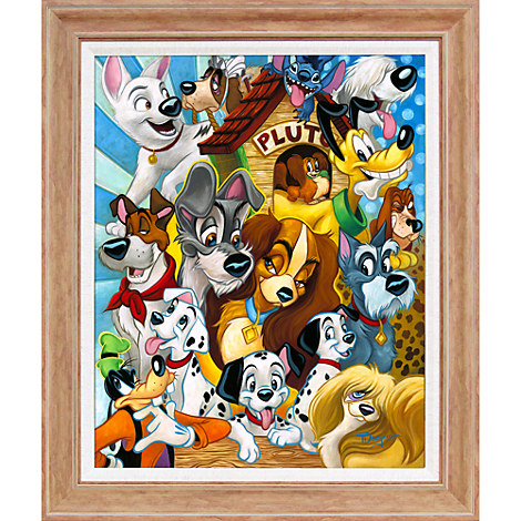 ''Disney Dogs'' Giclée by Tim Rogerson