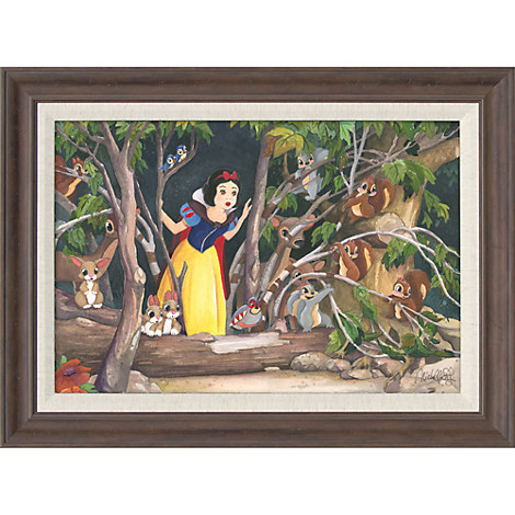 Snow White ''Snow White's Discovery'' Giclée by Michelle St.Laurent
