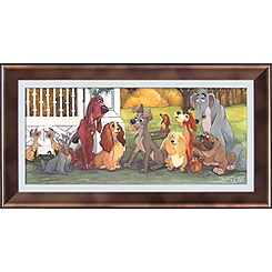 Lady and the Tramp ''A Dog's Life'' Giclée by Michelle St.Laurent
